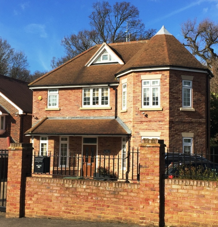 67 Salisbury Road - Detached house on large plot split into refurbished 2000 sq ft house plus new detached new 1800 sq ft house