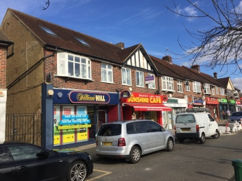 92-94 Chessington Road -Extension and conversion of retail/commercial into enlarged commercial with residential above. 6000 sq ft