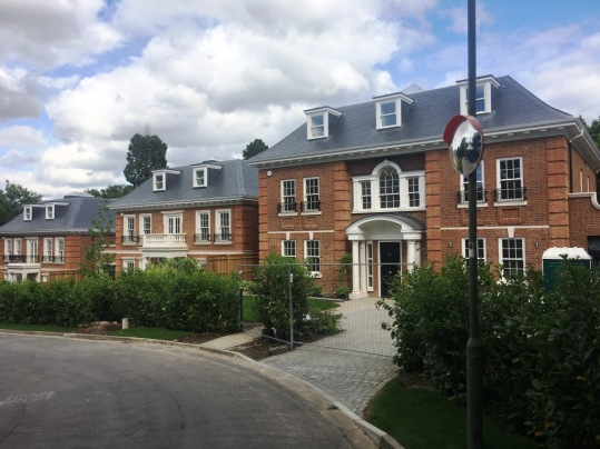 Greenwood Park - 3 new builds in Coombe, Kingston upon Thames. Total of 15,000 sq ft of residential build