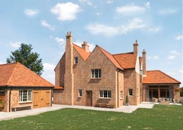 Roundbridge farmhouse rear